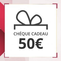 Chèque Cadeau 50 euros