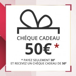 Offrez 50 € .. payez 30 € (réduction 20 €)